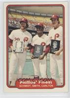 Mike Schmidt, Lonnie Smith, Steve Carlton