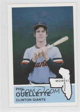 1982 Fritsch Midwest League Stars of Tomorrow [???] #5 - [Missing]