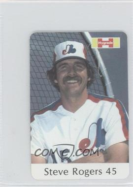 1982 Hygrade Meats Montreal Expos #45 - Steve Rogers