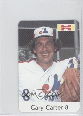 1982 Hygrade Meats Montreal Expos #8 - Gary Carter