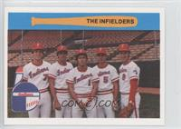 The Infielders (Nick Esasky, Tom Foley, Tom Lawless, Ronnie Farkas, Neil Fiala)