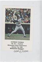 Gorman Thomas
