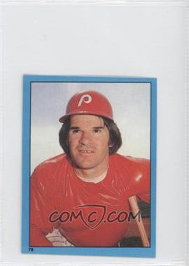 1982 O-Pee-Chee Album Stickers #78 - Pete Rose