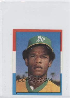 1982 O-Pee-Chee Album Stickers #8 - Rickey Henderson