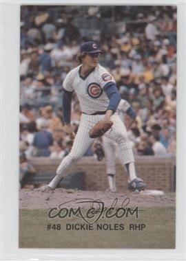 1982 Red Lobster Chicago Cubs - [Base] #48 - Dickie Noles