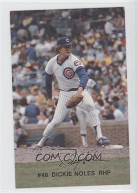 1982 Red Lobster Chicago Cubs #48 - Dickie Noles