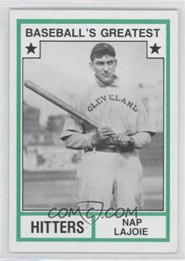 1982 TCMA Baseball's Greatest - Hitters - Tan Back #1982-24 - Nap Lajoie