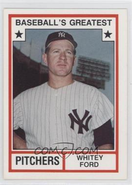 1982 TCMA Baseball's Greatest - Pitchers - White Back #1982-3 - Whitey Ford