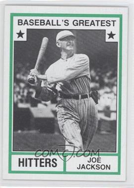 1982 TCMA Baseball's Greatest Hitters Tan Back #1982-16 - Joe Jackson