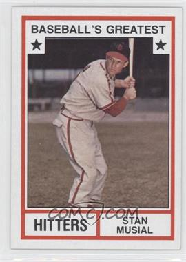 1982 TCMA Baseball's Greatest Hitters Tan Back #1982-2 - Stan Musial