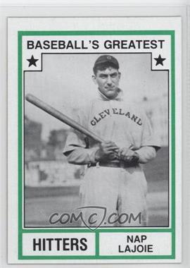 1982 TCMA Baseball's Greatest Hitters Tan Back #1982-24 - Nap Lajoie
