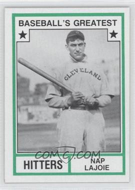 1982 TCMA Baseball's Greatest Hitters Tan Back #1982-24 - Nap Lajoie