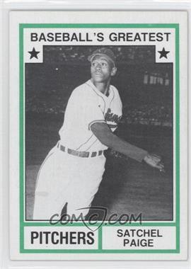 1982 TCMA Baseball's Greatest Pitchers Tan Back #1982-31 - Satchel Paige