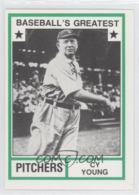 1982 TCMA Baseball's Greatest Pitchers White Back #1982-16 - Cy Young