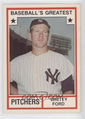 1982 TCMA Baseball's Greatest Pitchers White Back #1982-3 - Whitey Ford