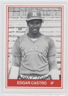 1982 TCMA Minor League #1081 - Edgar Castro