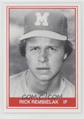 1982 TCMA Minor League #1082 - Rick Rembielak