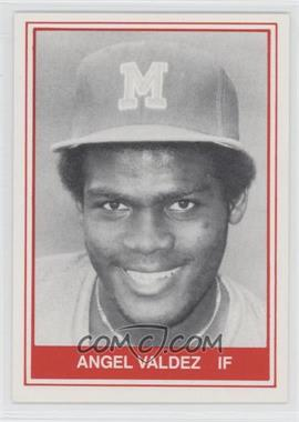 1982 TCMA Minor League #1083 - Angel Valdez