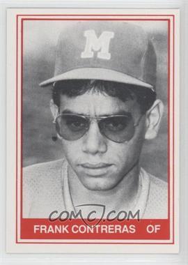 1982 TCMA Minor League #1087 - Frank Contreras