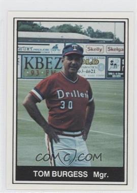 1982 TCMA Minor League #1143 - Tom Burgmeier