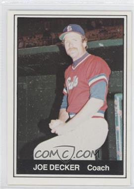 1982 TCMA Minor League #234 - Joe Decker