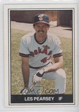 1982 TCMA Minor League #450 - Les Pearsey