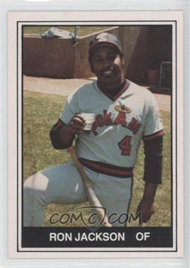 1982 TCMA Minor League #453 - Ron Jackson