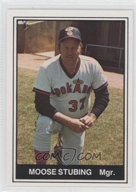 1982 TCMA Minor League #456 - Moose Stubing