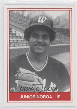 1982 TCMA Minor League #518 - Junior Noboa