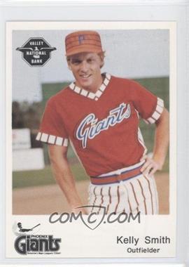 1982 The Dugout Phoenix Giants #20 - Kelly Smith