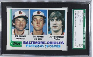 1982 Topps - [Base] #21 - Bobby Bonner, Cal Ripken Jr., Jeff Schneider [SGC86]