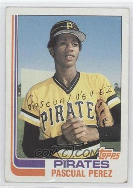 1982 Topps - [Base] #383.1 - Pascual Perez (No Position on Front)