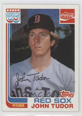 1982 Topps Coca-Cola/Brighams's Boston Red Sox #21 - John Tudor