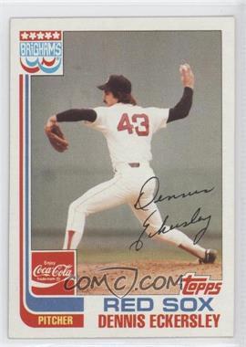 1982 Topps Coca-Cola/Brighams's Boston Red Sox #5 - Dennis Eckersley