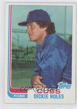 1982 Topps Traded - [Base] #82T - Dickie Noles