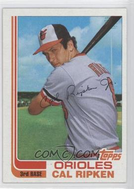 1982 Topps Traded - [Base] #98T - Cal Ripken Jr.