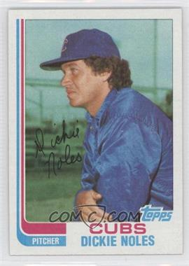 1982 Topps Traded #82T - Dickie Noles