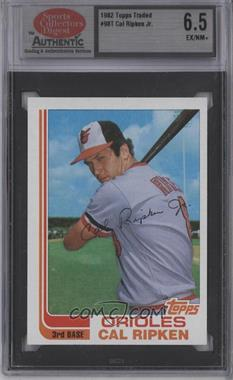 1982 Topps Traded #98T - Cal Ripken Jr. [ENCASED]