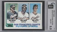 Bob Brenly, Chili Davis, Bob Tufts [GAI 8.5]