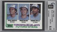 Jesse Barfield, Brian Milner, Boomer Wells [GAI8.5]