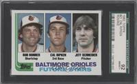 Baltimore Orioles Future Stars (Bob Bonner, Cal Ripken, Jeff Schneider) [SGC&nb…