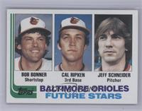 Bobby Bonner, Cal Ripken Jr., Jeff Schneider [Mint]