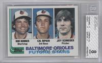 Jeff Schneider, Bobby Bonner, Cal Ripken Jr. [BGS8]