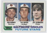 Jeff Schneider, Bobby Bonner, Cal Ripken Jr.