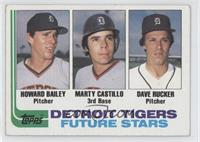 Tigers Future Stars(Howard Bailey, Marty Castillo, Dave Rucker) [Good to&n…