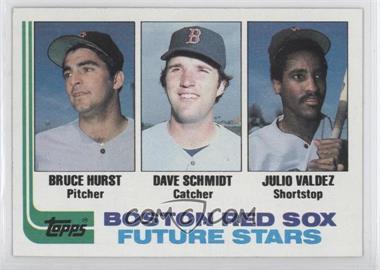 1982 Topps #381 - Bruce Hurst, Dave Schmidt, Julio Valdez