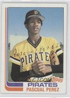 Pascual Perez (No Position on Front)