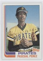 Pascual Perez No Position on Front