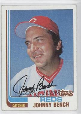 1982 Topps #400 - Johnny Bench