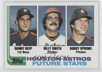 Danny Heep, Billy Smith, Bobby Sprowl